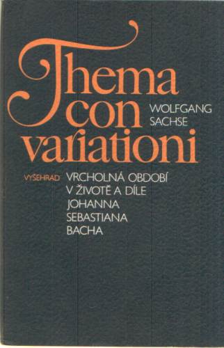 Wolfgang Sachse - Thema con variationi