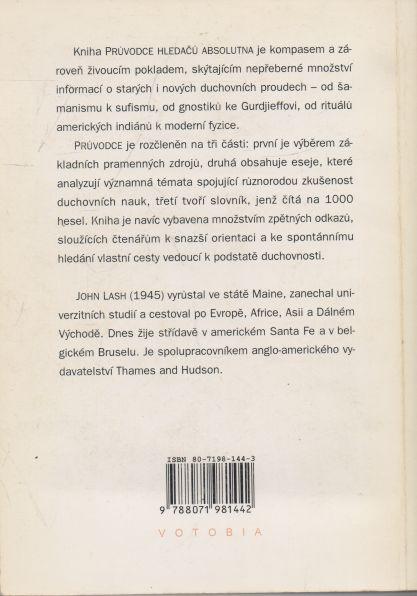 John Lash - Průvodce hledačů absolutna. Encyklopedie duchovních nauk.