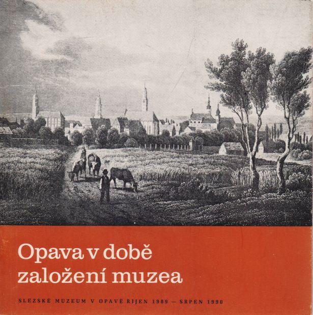 Milan Myška, Josef Solnický - Opava v době založení muzea