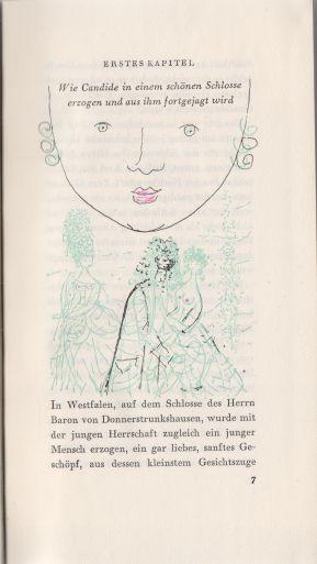 Voltaire - Candide oder der Optimismus - německy