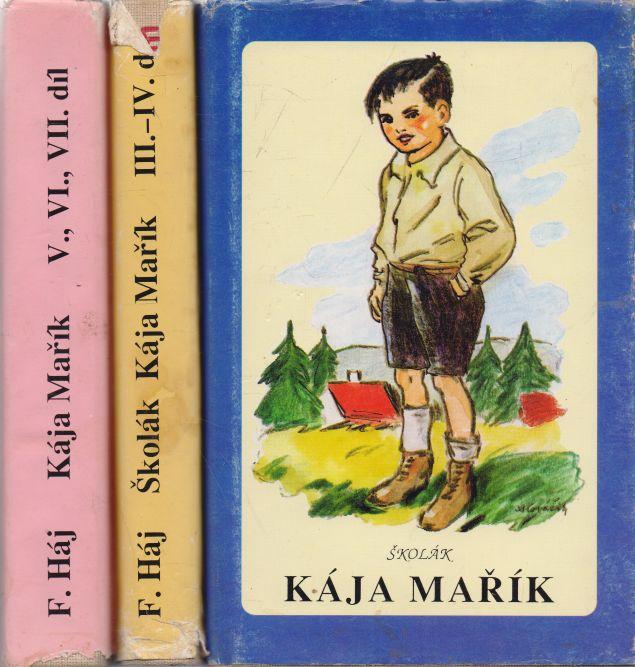 F. Háj - Školák Kája Mařík 1-7