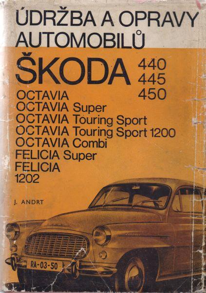 J. Andrt - Údržba a opravy automobilů Škoda 440, 445, 450