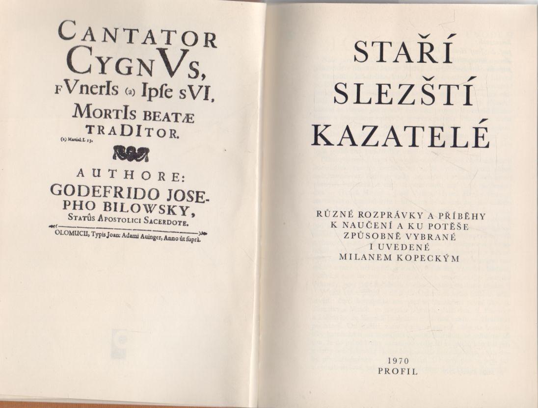 Milan Kopecký - Staří slezští kazatelé