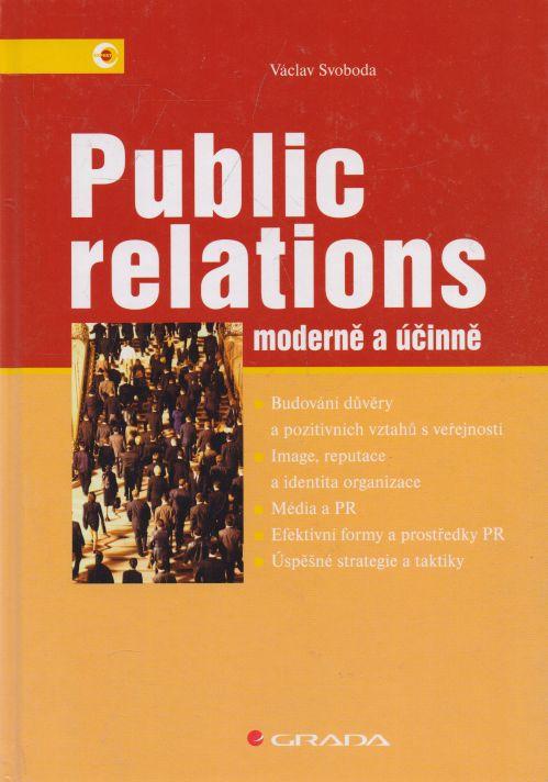Václav Svoboda - Public relations moderně a účinně