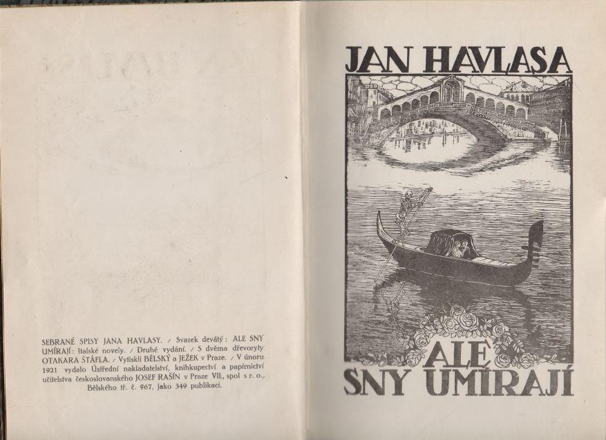 Jan Havlasa - Ale sny umírají