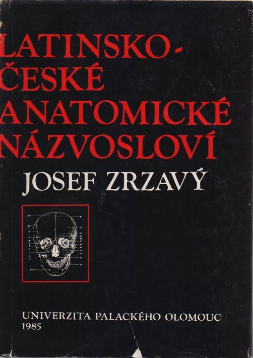 Josef Zrzavý - Latinsko-české anatomické názvosloví
