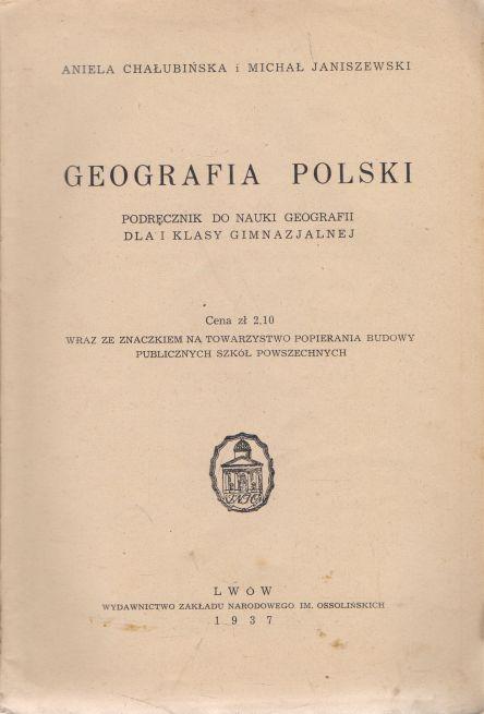 Aniela Chalubinska, Michal Janiszewski - Geografia Polski