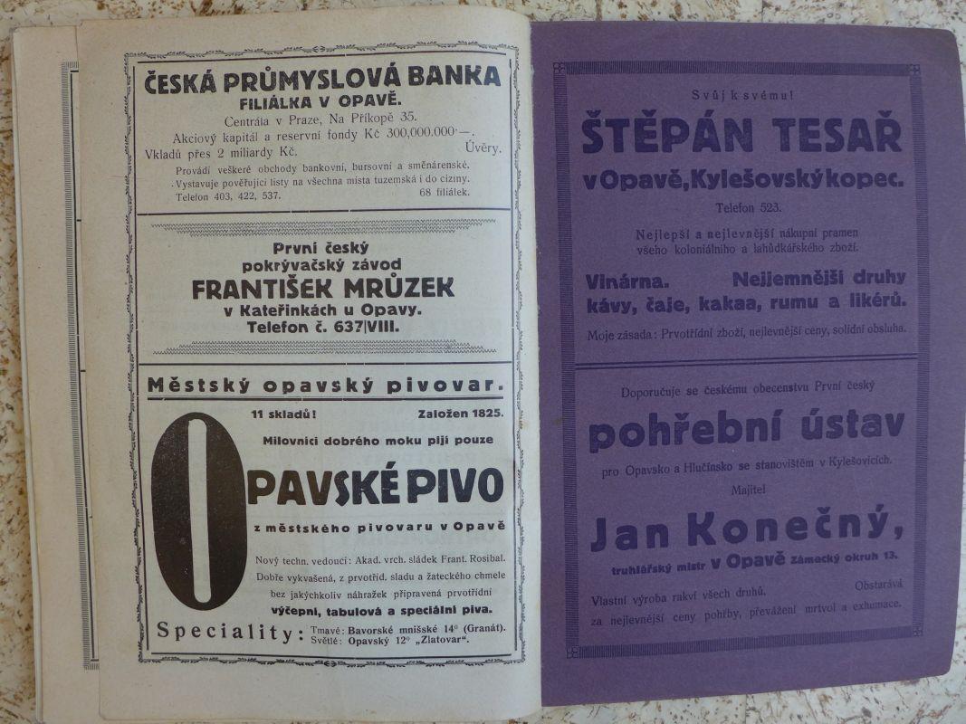 Otakar Gudrich - Deset let československého Opavska