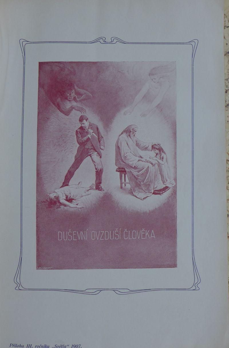 Josef Štětka - Světlo - český spiritický kalendář na rok 1907