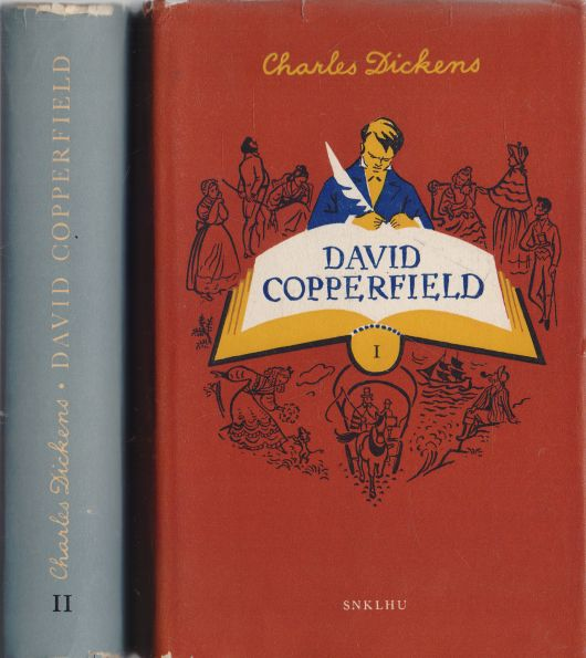 Charles Dickens - David Copperfield 1+2