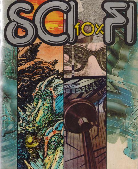 Asimov, Blish, Budrys, Lllison, Van Vogt, Shaw, Sheckley, Smith, Tenn, Tiptree, Zelezny - Sci-fi 10x slovensky