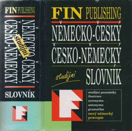 kolektiv autorů - Německo-český, česko-německý slovník studijní
