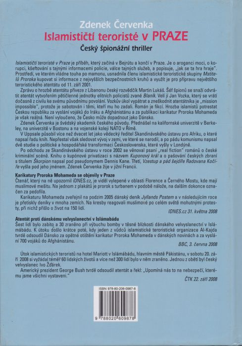 Zdenek Červenka - Islamističtí teroristé v Praze