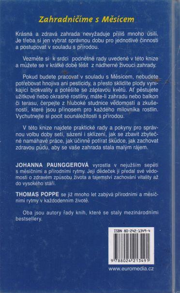 Johanna Paunggerová, Thomas Poppe - Lunární zahrada