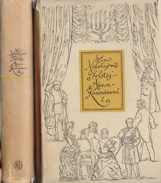 Lev Nikolajevič Tolstoj - Anna Kareninová I+II