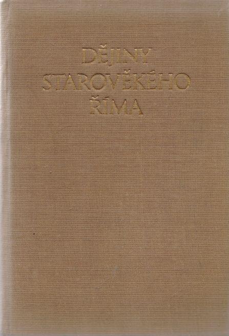 N.A. Maškin - Dějiny starověkého Říma