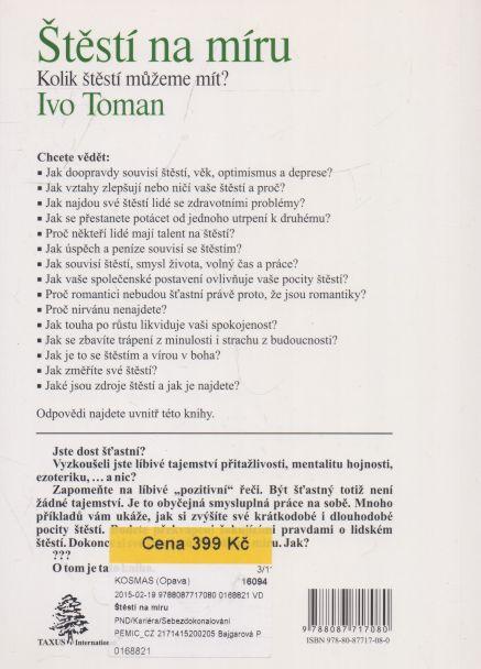 Ivo Toman - Štěstí na míru