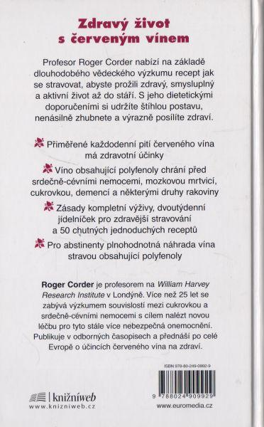 Roger Corder - Víno jako lék