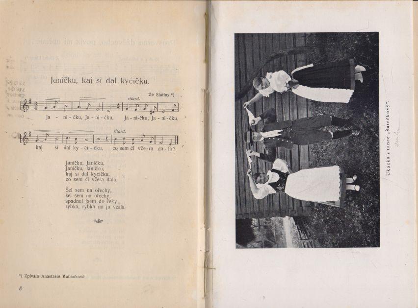 František Myslivec - Slezské národní písně, tance a popěvky