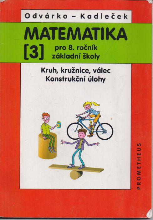 Odvárko, Kadleček - Matematika pro 8. ročník ZŠ