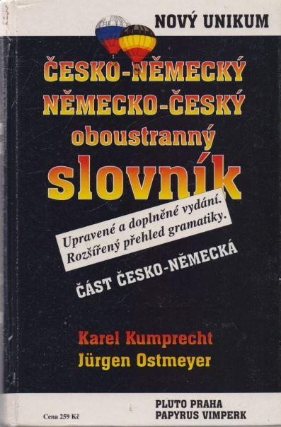 Karel Kumprecht, Jurgen Ostmeyer - česko-německý, německo-český oboustranný slovník