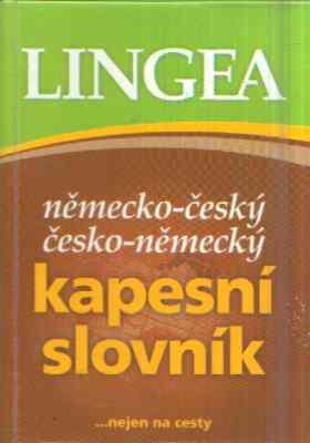 - Německo-český, česko-německý kapesní slovník