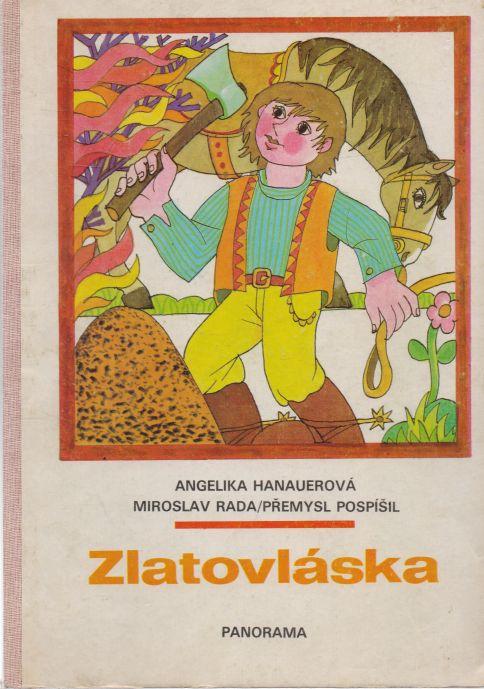 Angelika Hanauerová - Zlatovláska