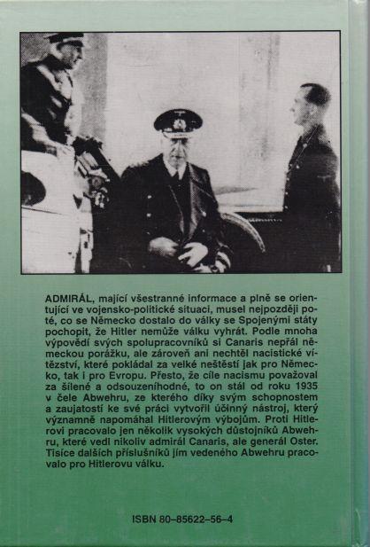 Jiří Brož - Admirál Canaris a jeho Abwehr