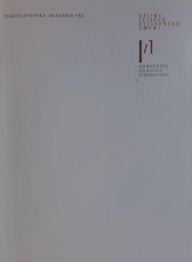 - Dějiny českého výtvarného umění 2 svazky
