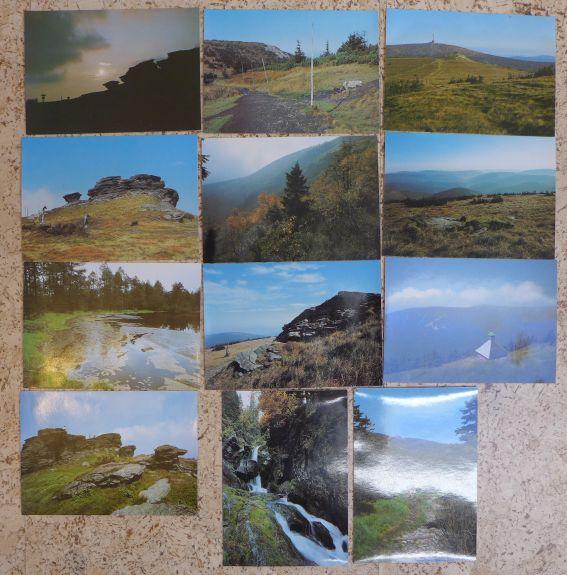 - Jeseníky - soubor pohlednic