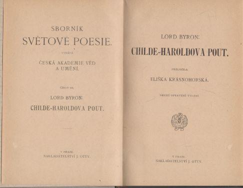 Lord Byron - Childe-Haroldova pout