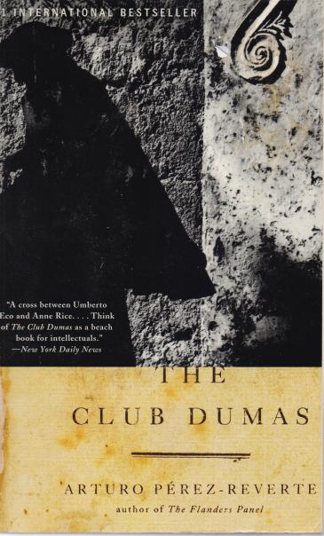 an analysis of the club dumas Arturo pérez-reverte's the club dumas was used as the basis of the 1999 roman polanski film the ninth gatethe club dumas was used as.