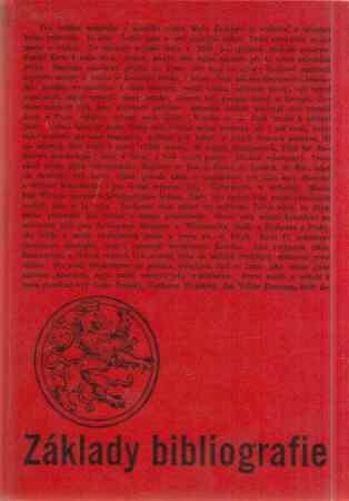 kolektiv autorů - Základy bibliografie