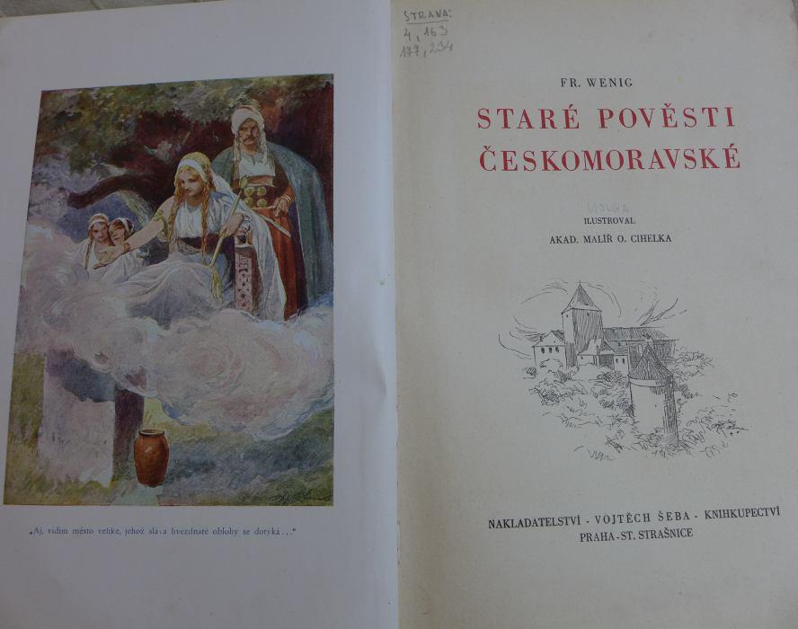 Fr. Wenig - Staré pověsti českomoravské