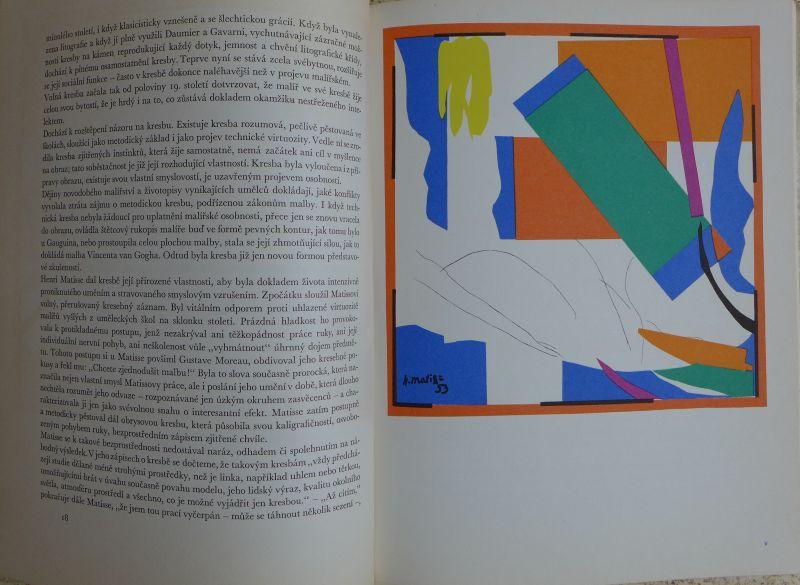 František Dvořák - Henri Matisse kresby
