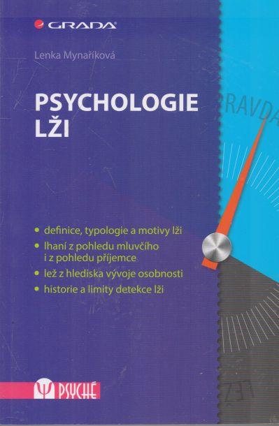 Lenka Mynaříková - Psychologie lži