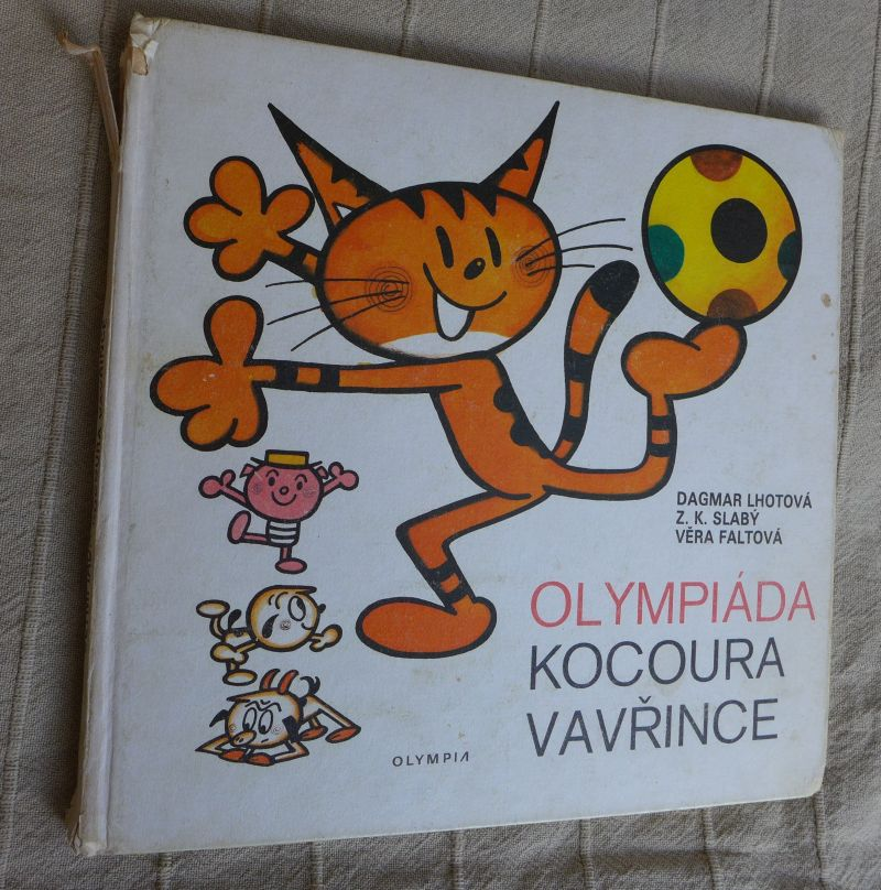 Dagmar Lhotová, Z.K. Slabý - Olympiáda kocoura Vavřince