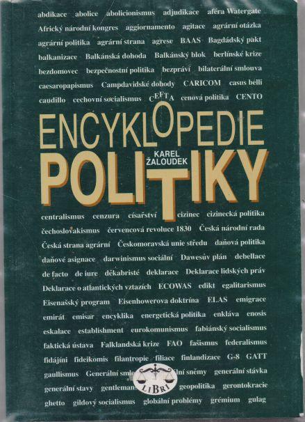 Karel Žaloudek - Encyklopedie politiky