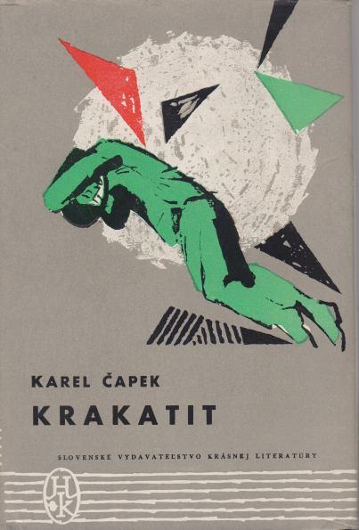 Karel Čapek - Krakatit - slovensky