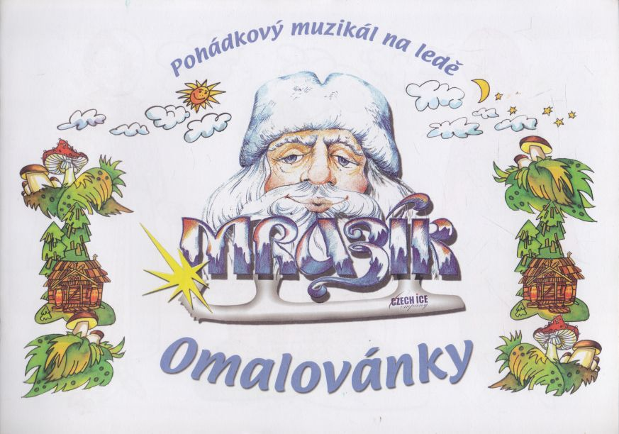 - Pohádkový muzikál na ledě - omalovánky