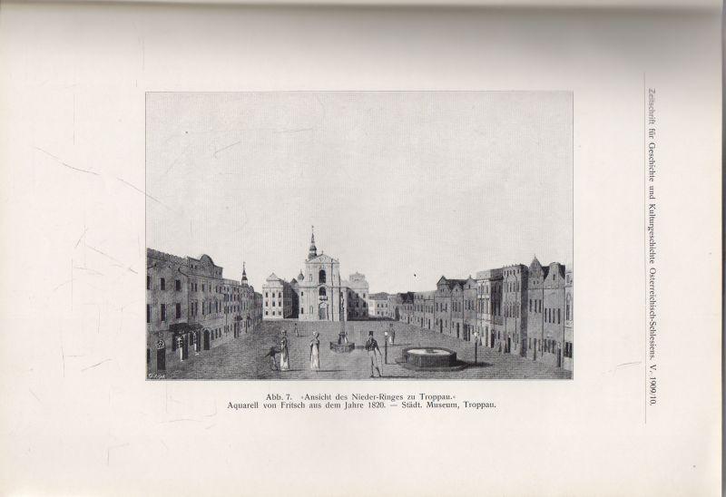 Karl Knaflitsch - Lokalgeschichtliches zum Troppauer Kongress 1820