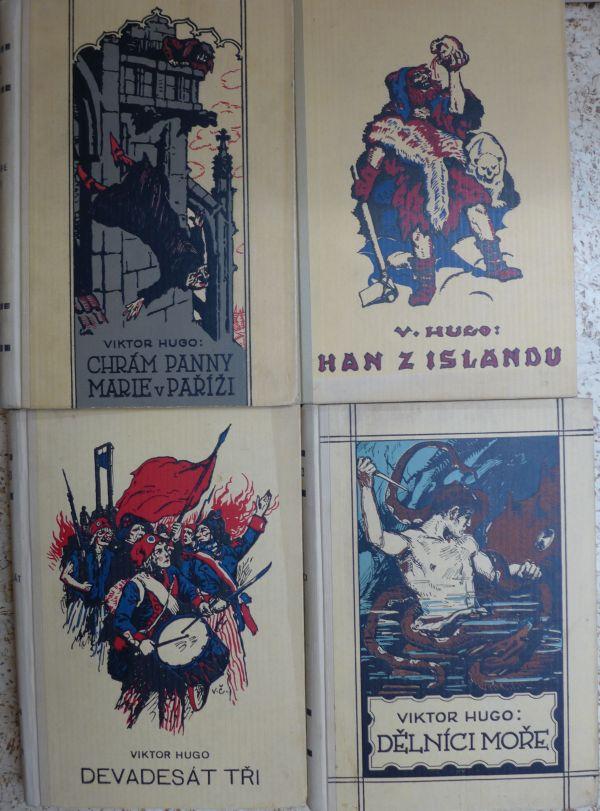 Victor Hugo - Dělníci moře. Han z Islandu. Chrám panny Marie v Paříži. Devadesát tři.
