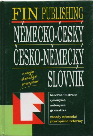 - Německo-český, česko-německý slovník