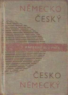 Josef Beneš - Německo český, česko německý kapesní slovník