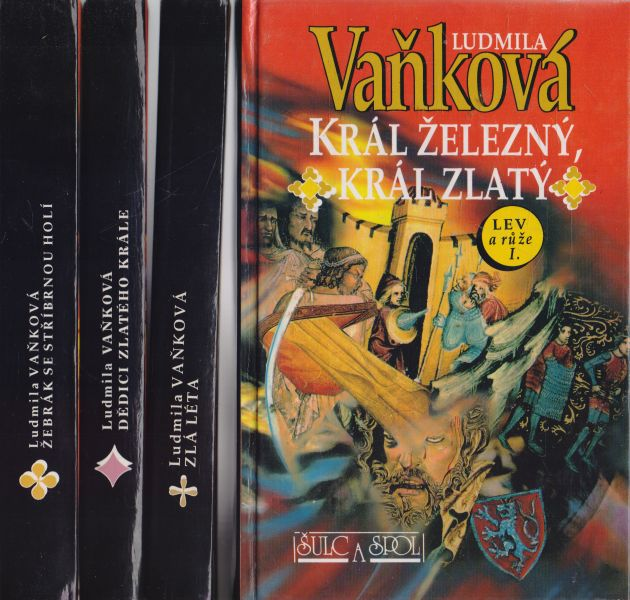 Ludmila Vaňková - Lev a růže I.-IV.