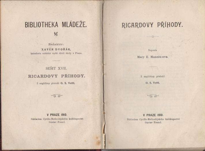 Mary E. Mannix-ova - Ricardovy příhody