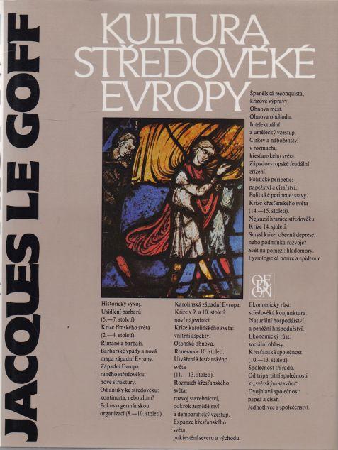Jacques le Goff - Kultura středověké Evropy
