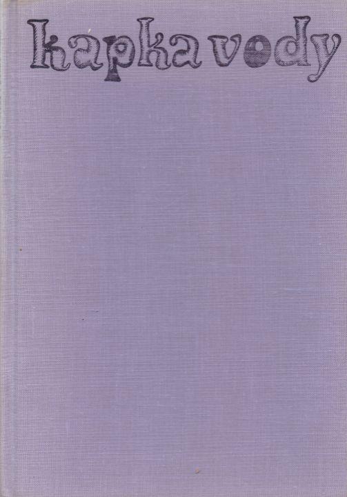Josef V. Pleva - Kapka vody