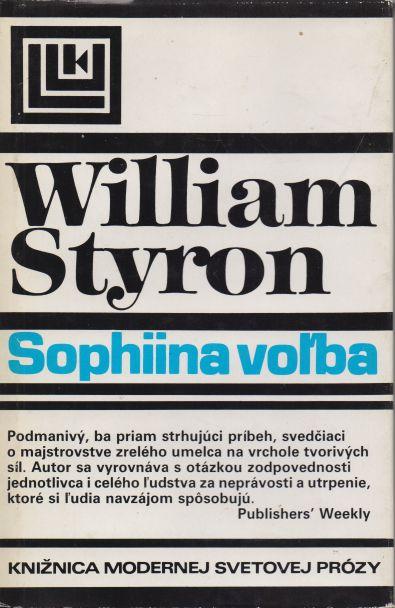 William Styron - Sophiina volba - slovensky