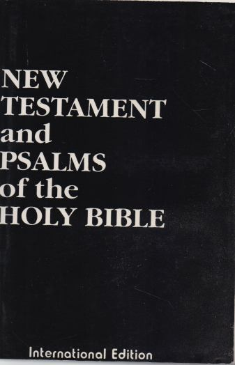 - New Testament and Psalms of the Holy Bible